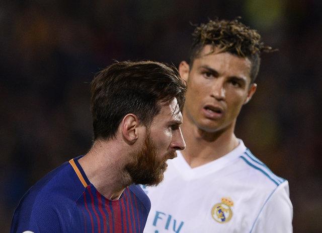 Капітани збірної Аргентини Ліонель Мессі та Португалії Кріштіану Роналду