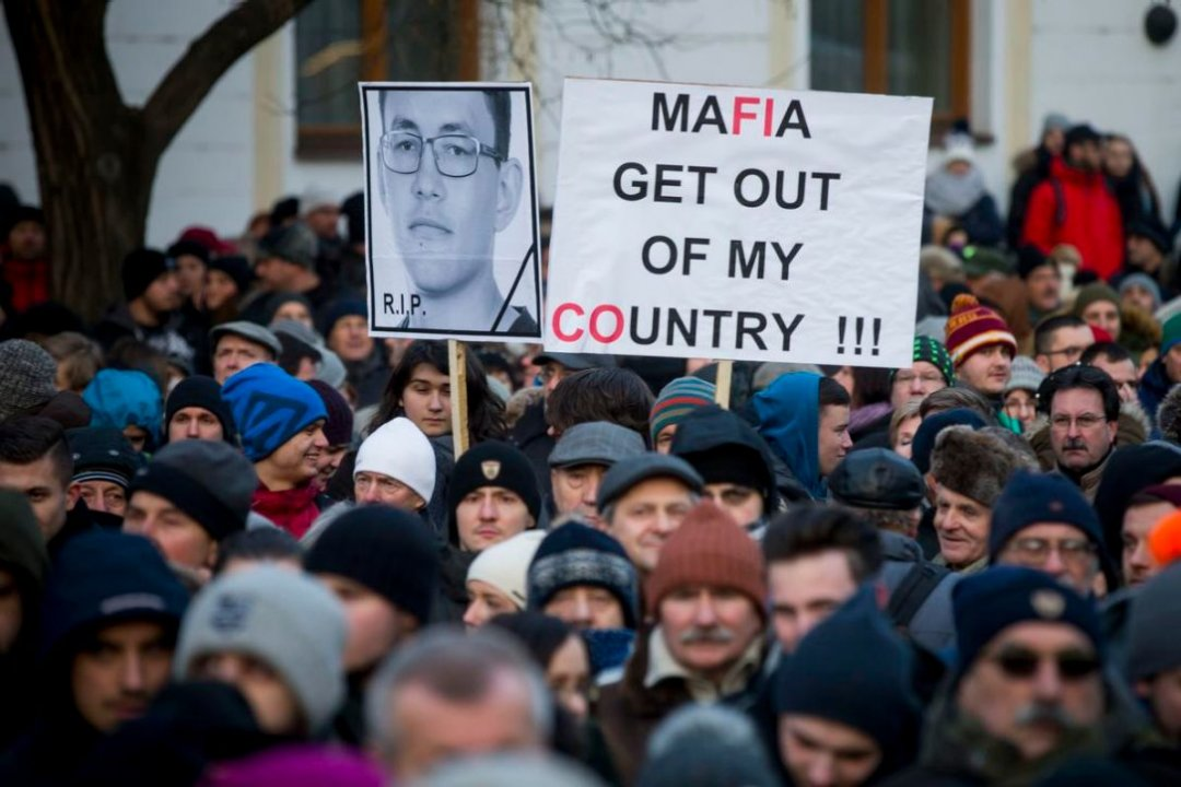 Протести в Словаччині (квітень 2018-го)