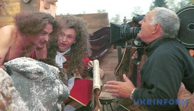 На фото: Юрій Іллєнко під час зйомок чергового епізоду фільму «Молитва за гетьмана Мазепу». Фото: Укрінформу.