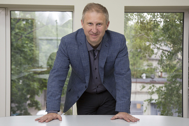 Віталій Богданов, технічний директор Укркарт // Фото: Forbes Україна