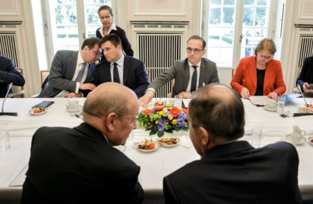Зустріч чотирьох міністрів за закритими дверима (11 червня 2018 року)