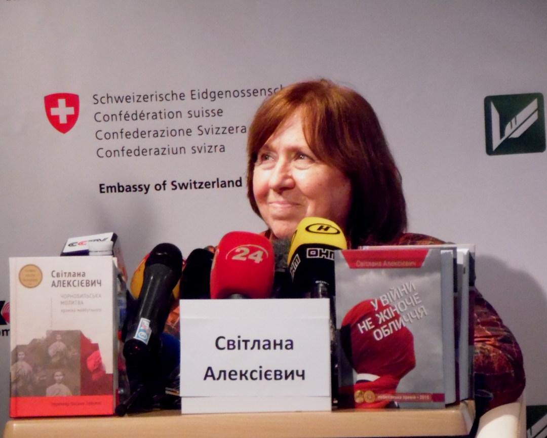 Під час зустрічі з українськими читачами