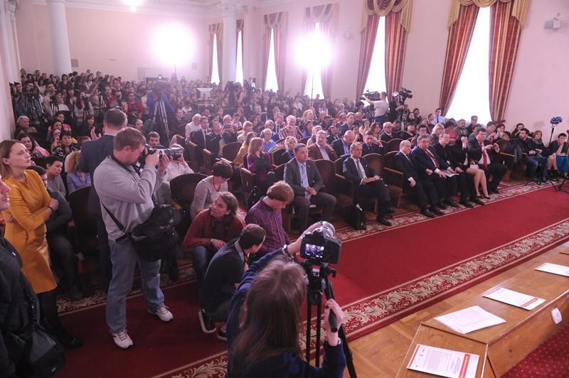Зустріч з письменницею в Київському університеті
