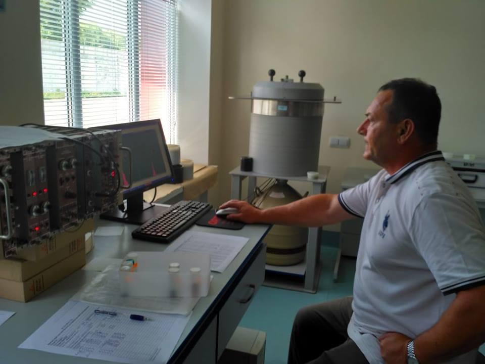 Святослав Левчук, завідувач лабораторією ядерно-фізичних методів аналізу УкрНДІСГ