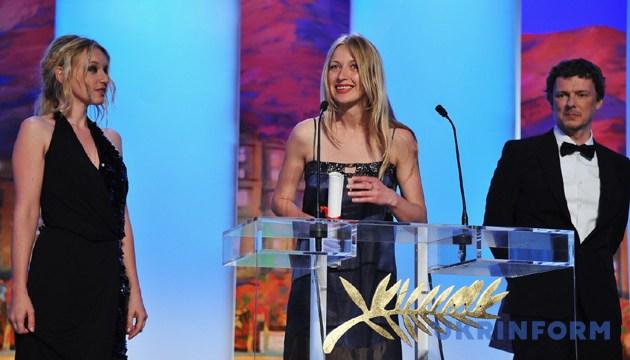 Марина Врода під час нагородження. Канни, 22 травня 2011 року. Фото: twitter