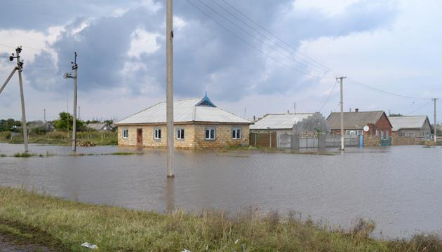 Затоплені будинки. Одеська область, 14 вересня 2013 року. Фото: ГУ ДСНС в Одеській області.