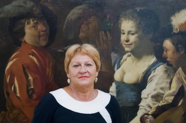 Директор художнього музею ім. Г.Галагана Ірини Ральченко