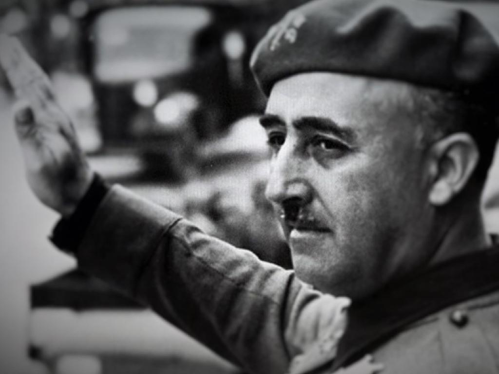 Франсіско Франко, іспанський диктатор
