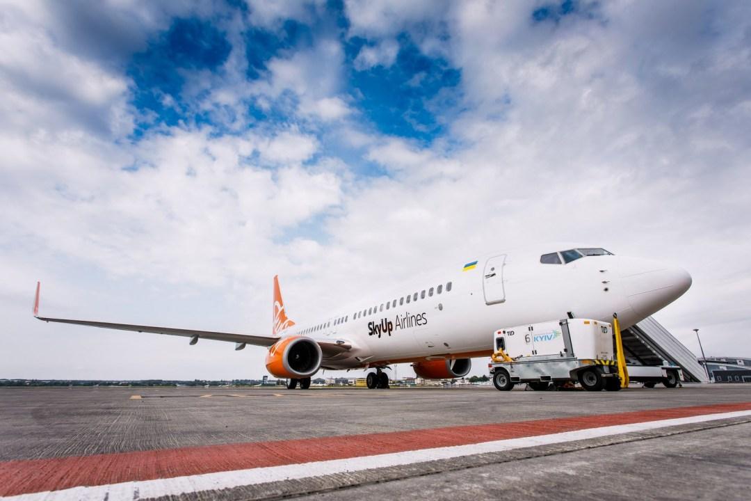 5-річний Boeing 737 української лоукост-компанії SkyUp