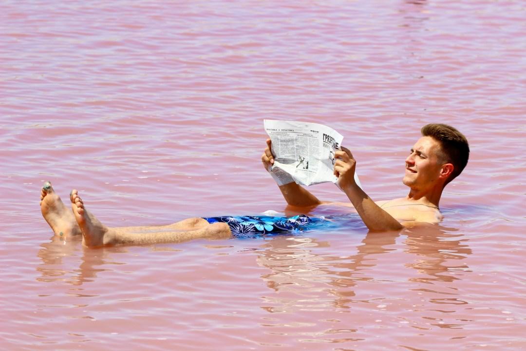 Солоність води майже як в знаменитому Мертвому морі