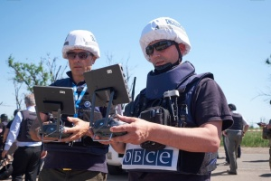 OSCE spots about 70 anti-tank mines at Donetsk airport