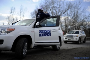 OSCE spots over 20 Russian tanks near Ternove
