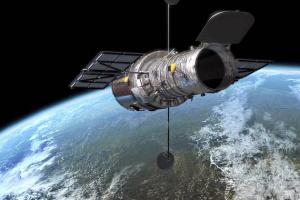 """Hubble сделал снимок """"убегающей"""" галактики"""