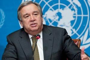 Sekretarz Generalny ONZ poparł wezwanie Rosji do zaprzestania okupacji Krymu