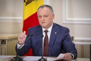 Додон выступает за интенсификацию диалога между Молдовой и Евросоюзом