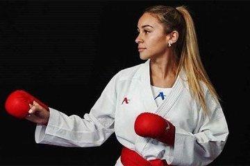 空手道女选手安热立卡•杰留卡被评为乌克兰五月最佳运动员