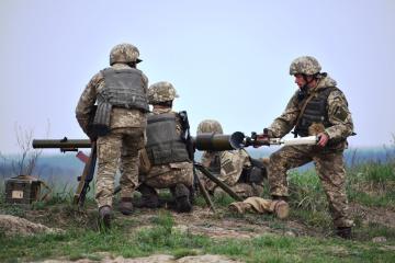 OVK-Raum: Besatzer verwenden 122-mm-Mörser