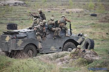 Donbass: 30 Angriffe des Feindes, Verluste auf beiden Seiten