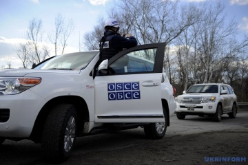 OSCE patrol comes under fire near Zolote – report