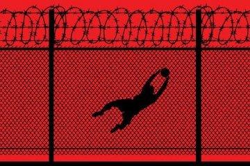 """""""Blut""""-Plakate zu Fußball-WM in Russland: Facebook sperrt ukrainischen Künstler"""
