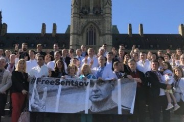 Canadian lawmakers support Oleg Sentsov