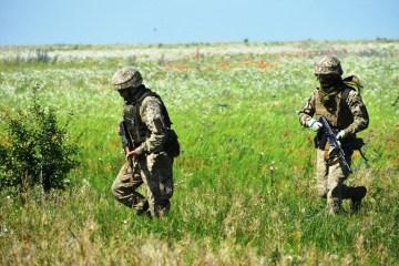 宇統一部隊:10日の露占領軍からの攻撃24回、宇兵の死者1名、負傷者1名