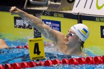 Schwimmen: Andrij Goworow gewinnt bei Weltpokal