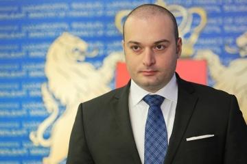 Bakhtadze: Georgia apoya la decisión pacífica y democrática de Ucrania