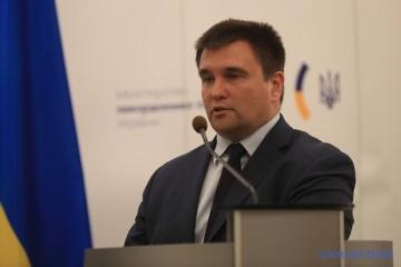 Pavlo Klimkine félicite les diplomates ukrainiens à l'occasion de leur fête