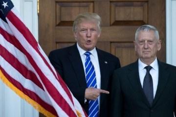 Глава Пентагону Меттіс іде у відставку