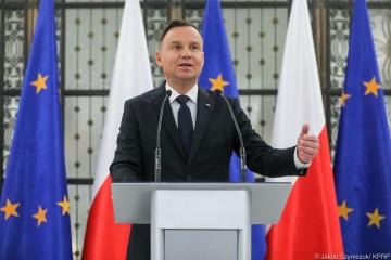 """Duda chce dialogu z Ukrainą, ponieważ istnieją pewne """"problemy historyczne"""""""