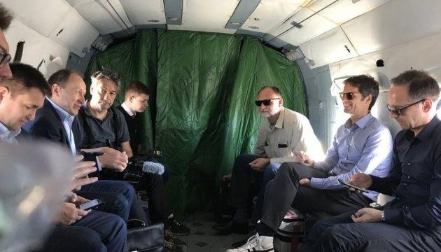 Klimkin und Maas besuchen Mariupol