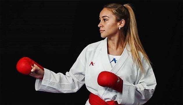 La karateka Anzhelika Terliuga, mejor deportista de mayo en Ucrania