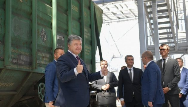Розвиток інфраструктури портів є питанням нацбезпеки України - Порошенко