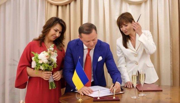 Лідер Радикальної партії Олег Ляшко узяв шлюб