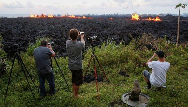 Лава з Кілауеа залила 14 квадратних кілометрів Гавайських островів