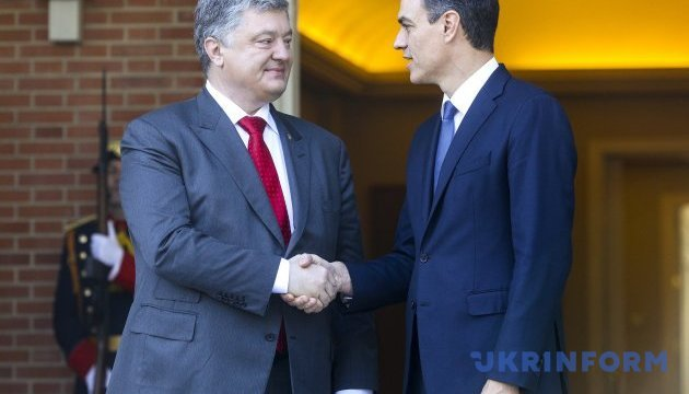 Spain supports extension of EU sanctions against Russia – Poroshenko