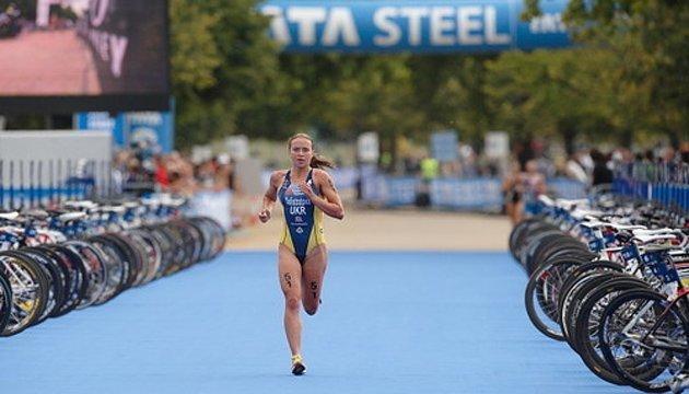 Українка Єлістратова перемогла на етапі Кубка Європи з триатлону в Дніпрі