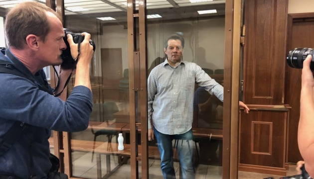 Київ висловив протест Москві у зв'язку з вироком Сущенку
