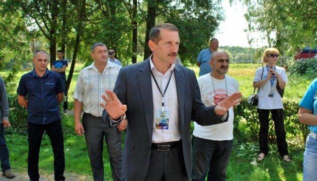 Мер Дрогобича вдарив активіста під час зустрічі з громадою