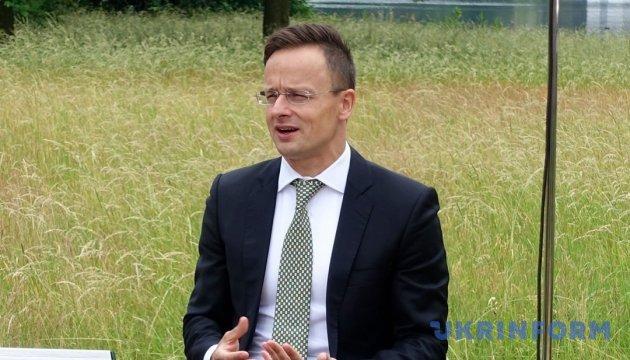ハンガリー外相、ウクライナ地方選挙投票日にハンガリー系政党を応援 宇外務省抗議