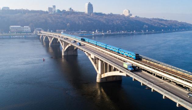 У Києві на мосту Метро до 5 травня обмежать рух