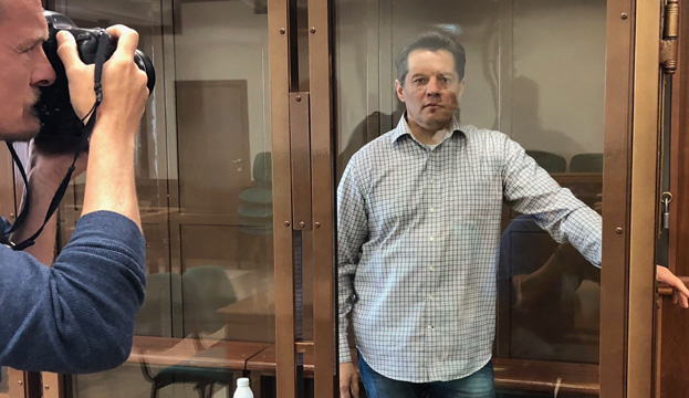 Gerashchenko apologizes to Sushchenko for failing to get him out of prison