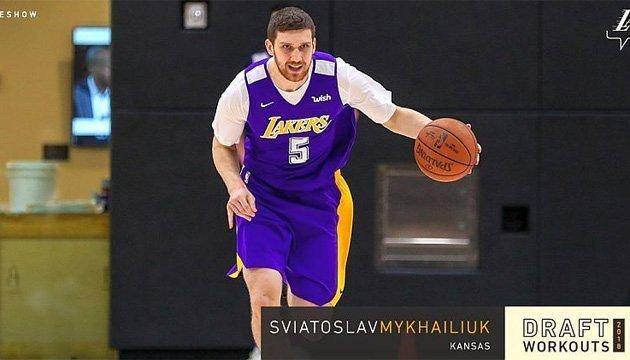 Баскетбол: українець Михайлюк вразив на перегляді американський