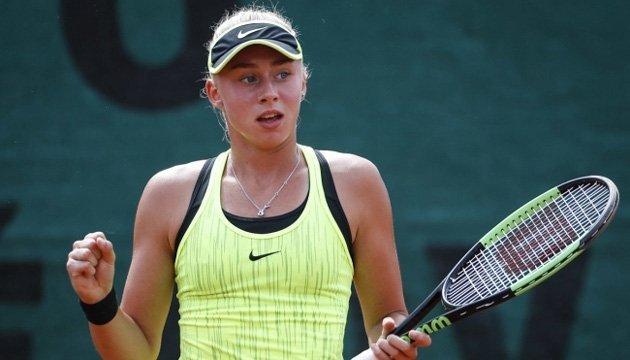 Теніс: Лопатецька виграла дебютний матч на турнірі ITF в Анталії