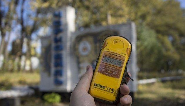 Пожежа у Чорнобильській зоні: ДСНС стверджує, що радіаційний фон в нормі