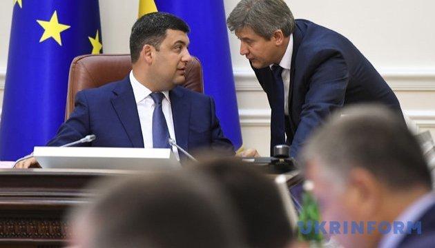 Regierungschef Hrojsman beantragt Entlassung des Finanzministers