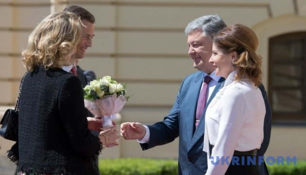 Poroshenko sees business ties as potential for cooperation with Liechtenstein
