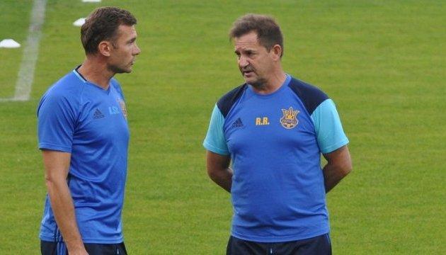 Андрій Шевченко підтвердив, що Рауль Ріанчо залишає збірну України