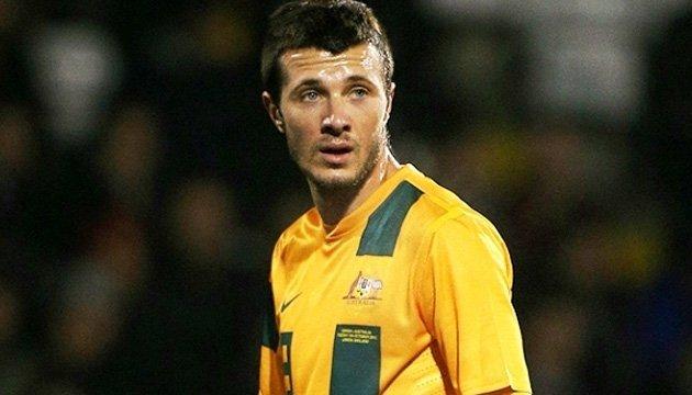 Австралія не взяла на ЧС-2018 з футболу гравця українського походження
